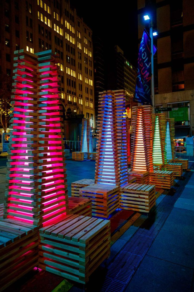 VIVID Sydney Lights Up The City With Colorful Installations And Projections #lightartinstallation