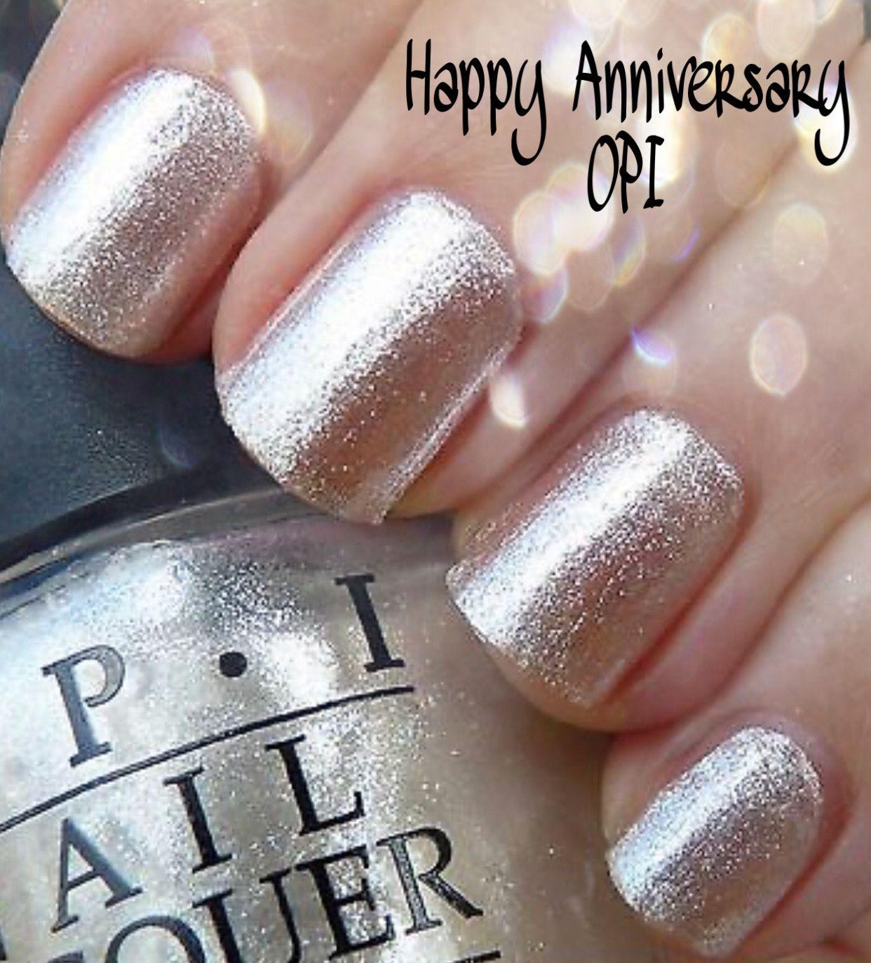 Happy Anniversary Opi Gel Polish Wedding Nails Moda Bella Salon Spa Wedding Nails Nail Polish Polish Wedding