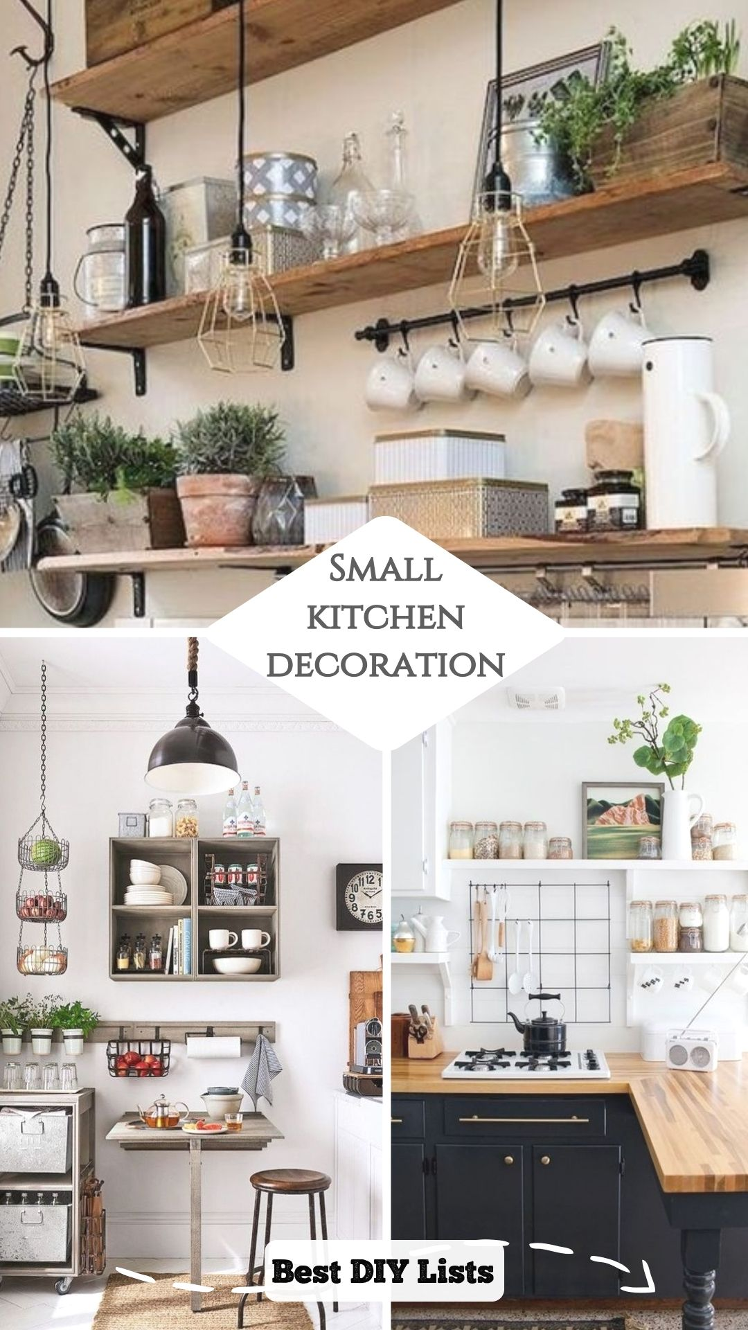 10 Unique Small Kitchen Design Ideas: 10 Clever Ideas For Small Kitchen Decoration In 2020