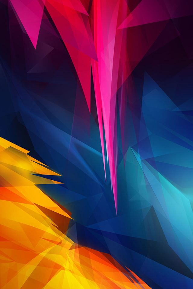 Pointy Wallpaper Abstract Iphone Wallpaper