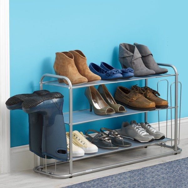 Real Simple Freestanding Shoe Boot Rack Bed Bath Beyond