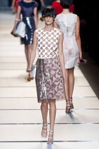 Fendi at Milan Fashion Week Spring 2014 - Runway Photos