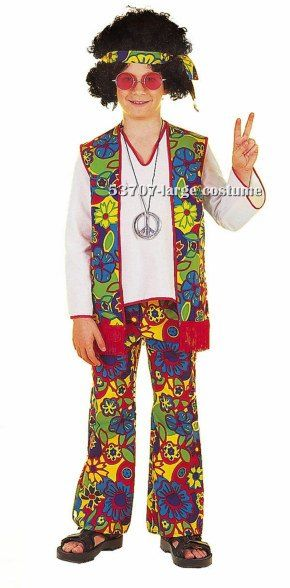 Kids Boy Hippie Costume$21.21  sc 1 st  Pinterest : hippie costume for boy  - Germanpascual.Com