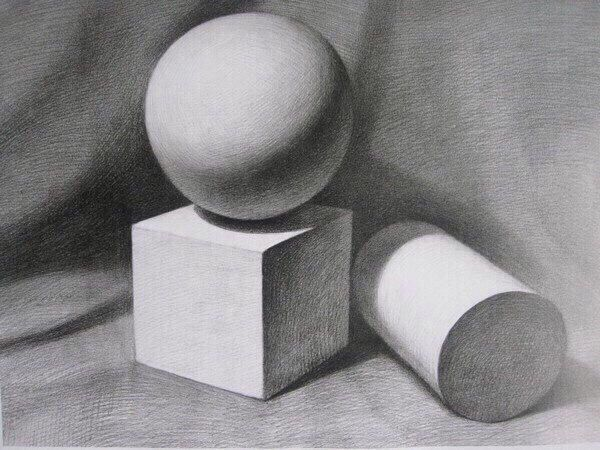 Картинки гипсовые фигуры для рисования