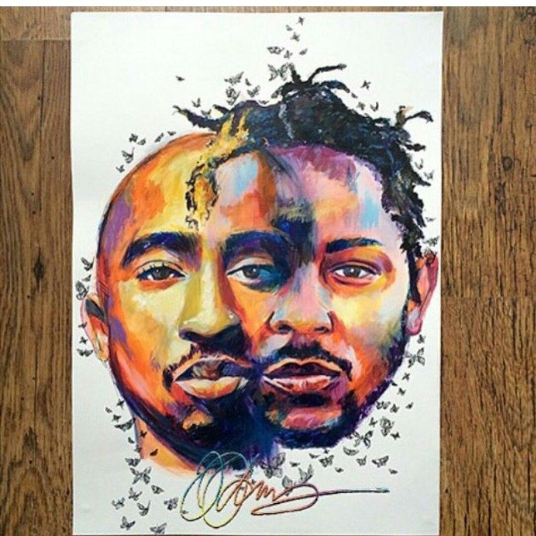 a60e4346a 2pac and Kendrick Lamar