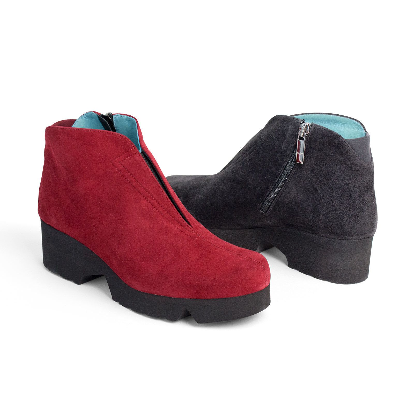 f1fff8ce37 Designed for all-day, everywhere comfort, this modern suede boot has a  sublime, glove-like fit thanks to a front elastic gore, instep zipper, and  microfiber ...