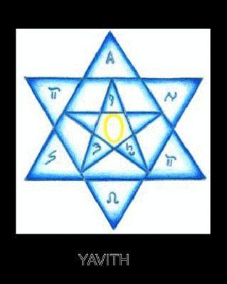 Poderoso Simbolo De Limpeza E Protecao Yavith Signo De Salomao
