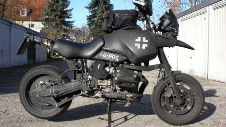 mad max would ride this bmw r1100gs   automotive   pinterest   mad
