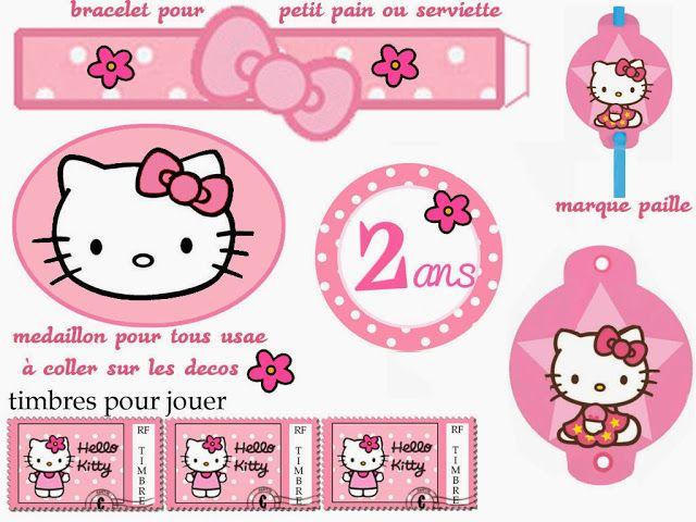 Hello Kitty Free Printable Kit      Pinterest