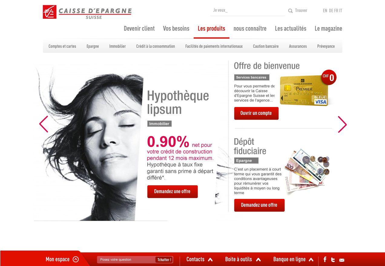 Switzerland Caisse D Epargne Website Caisse D Epargne Epargne