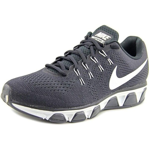 new styles a4848 abffe Nike Nike Air Max Tailwind 8 Men Round Toe Synthetic Black Running... (190  BGN) ❤ liked on Polyvore featuring men s fashion, men s shoes, men s  athletic ...