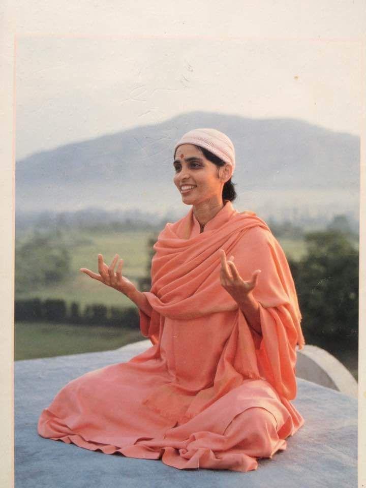 Gurumayi Chidvilasananda Siddha Yoga Integral Yoga Beautiful Moon