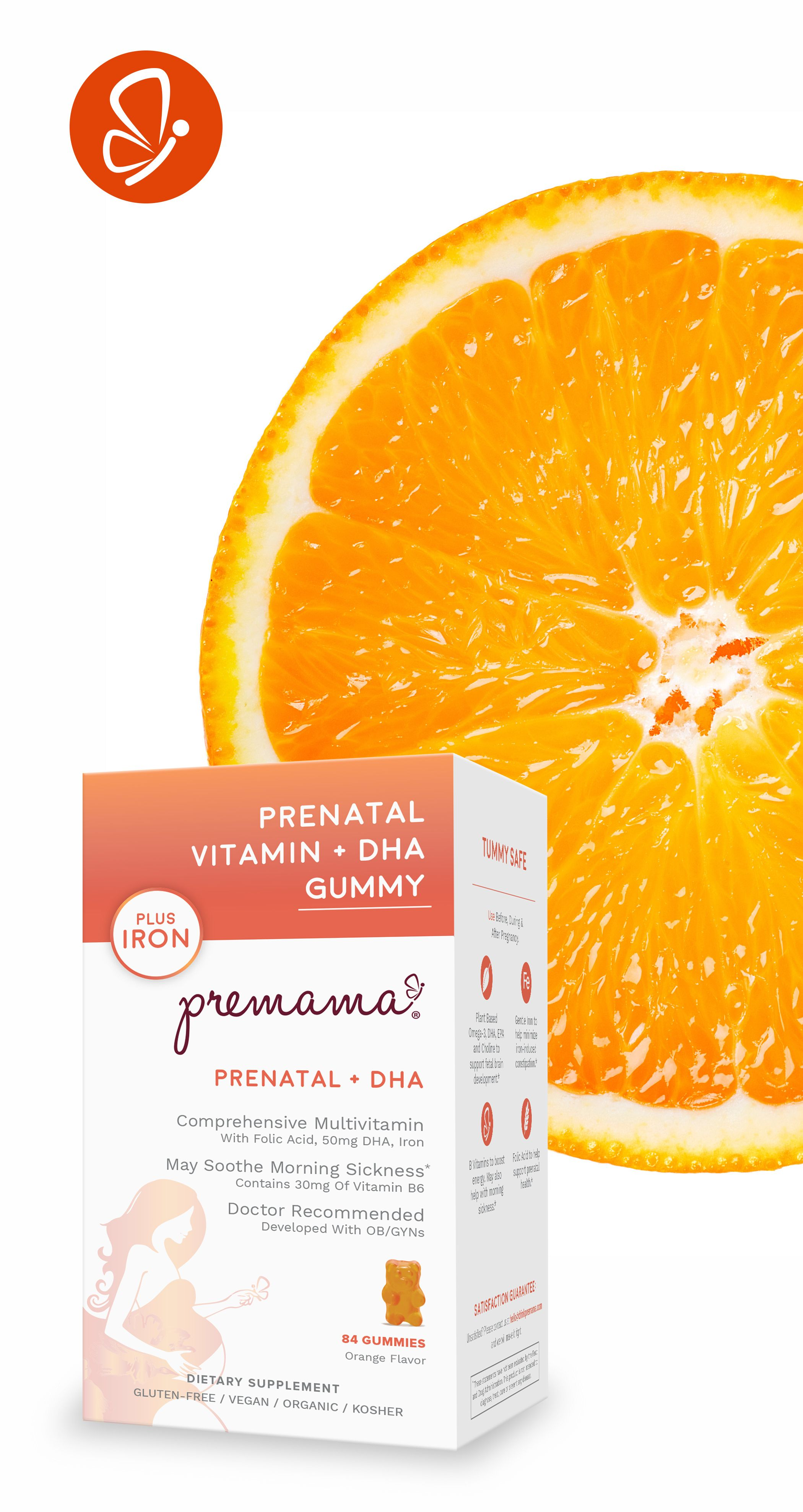 83d83e7d8 Did you know Premama Prenatal Vitamin + DHA Gummy is completely organic