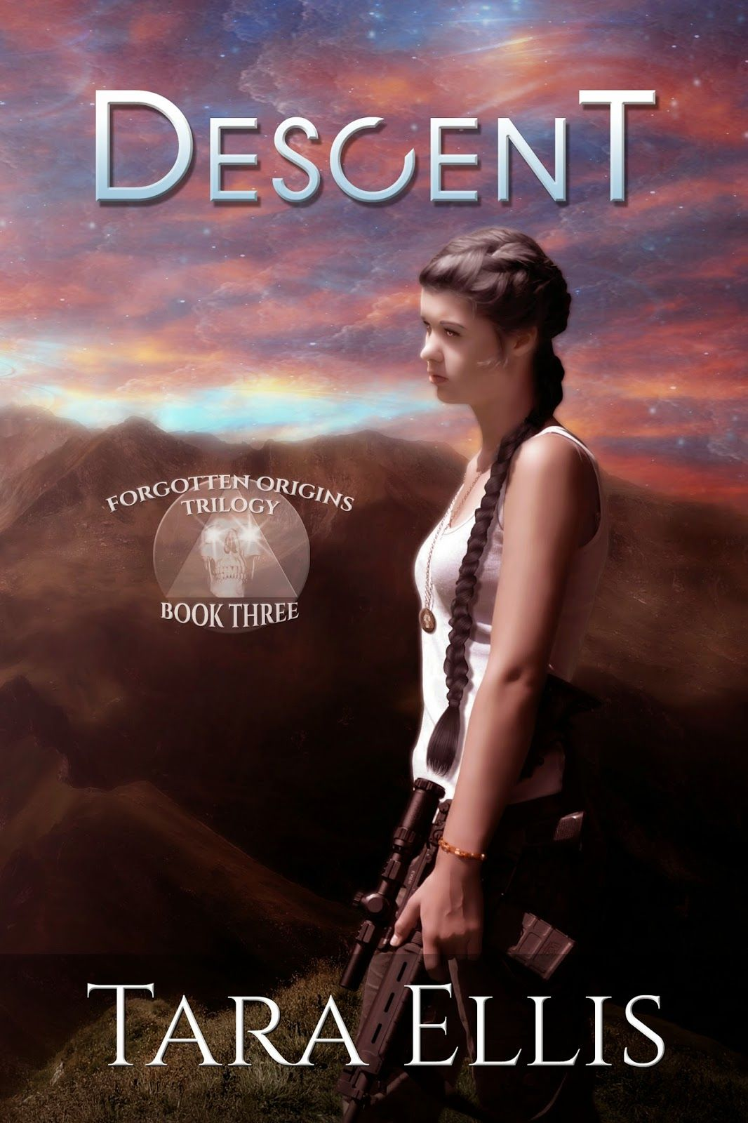 The Forgotten Origins Trilogy - COVER REVEAL for the third book, Descent!