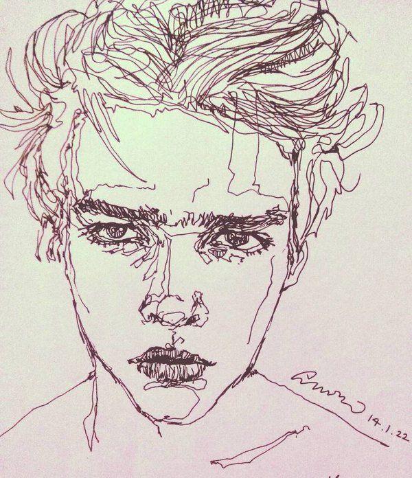 Image Result For Guy Drawing Tumblr Aesthetic Art Drawings Art
