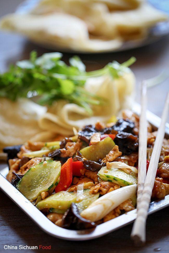 Pf chang moo shu pork recipe lite food recipes pinterest moo moo shu pork with homemade pancakes forumfinder Image collections