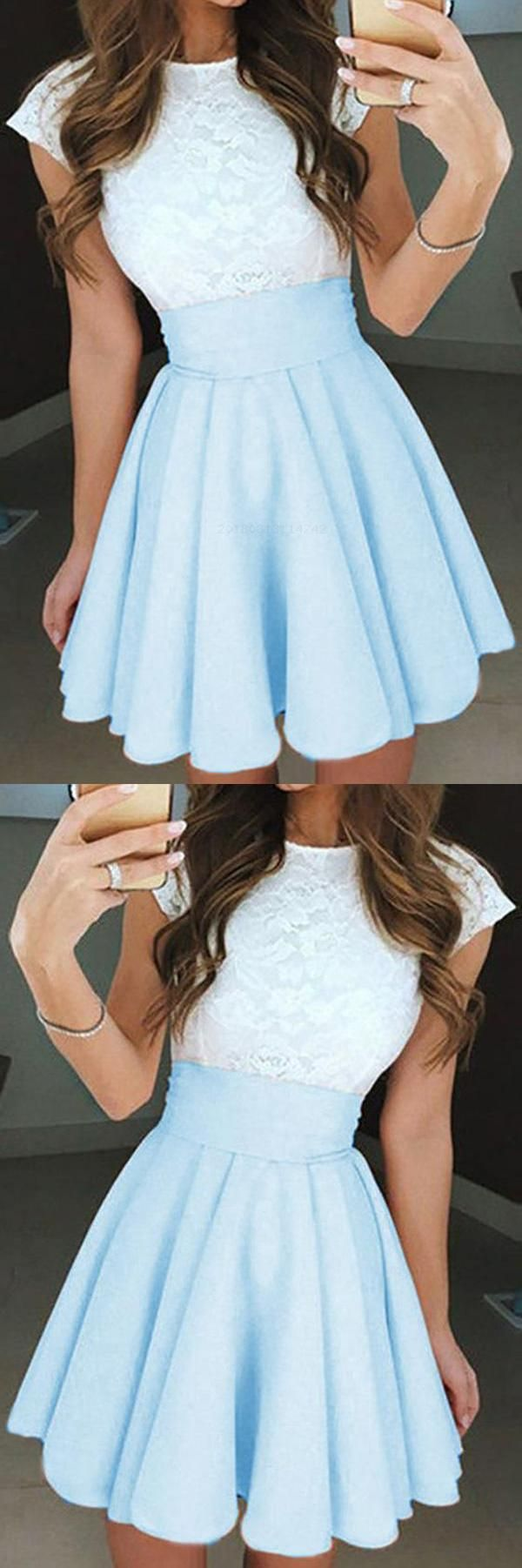 Customized trendy cute homecoming dress homecoming dress aline