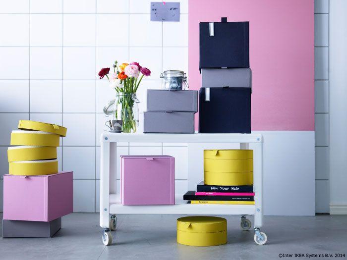 e mai pl cut s organizezi totul atunci c nd cutiile sunt colorate ca. Black Bedroom Furniture Sets. Home Design Ideas