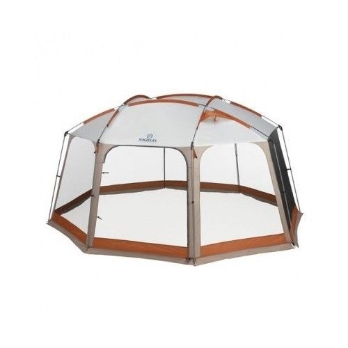 Screen Canopy C&ing Tent Screenhouse Gazebo Shade Tarp Territory 12x14-ft #Magellan  sc 1 st  Pinterest & Screen Canopy Camping Tent Screenhouse Gazebo Shade Tarp Territory ...