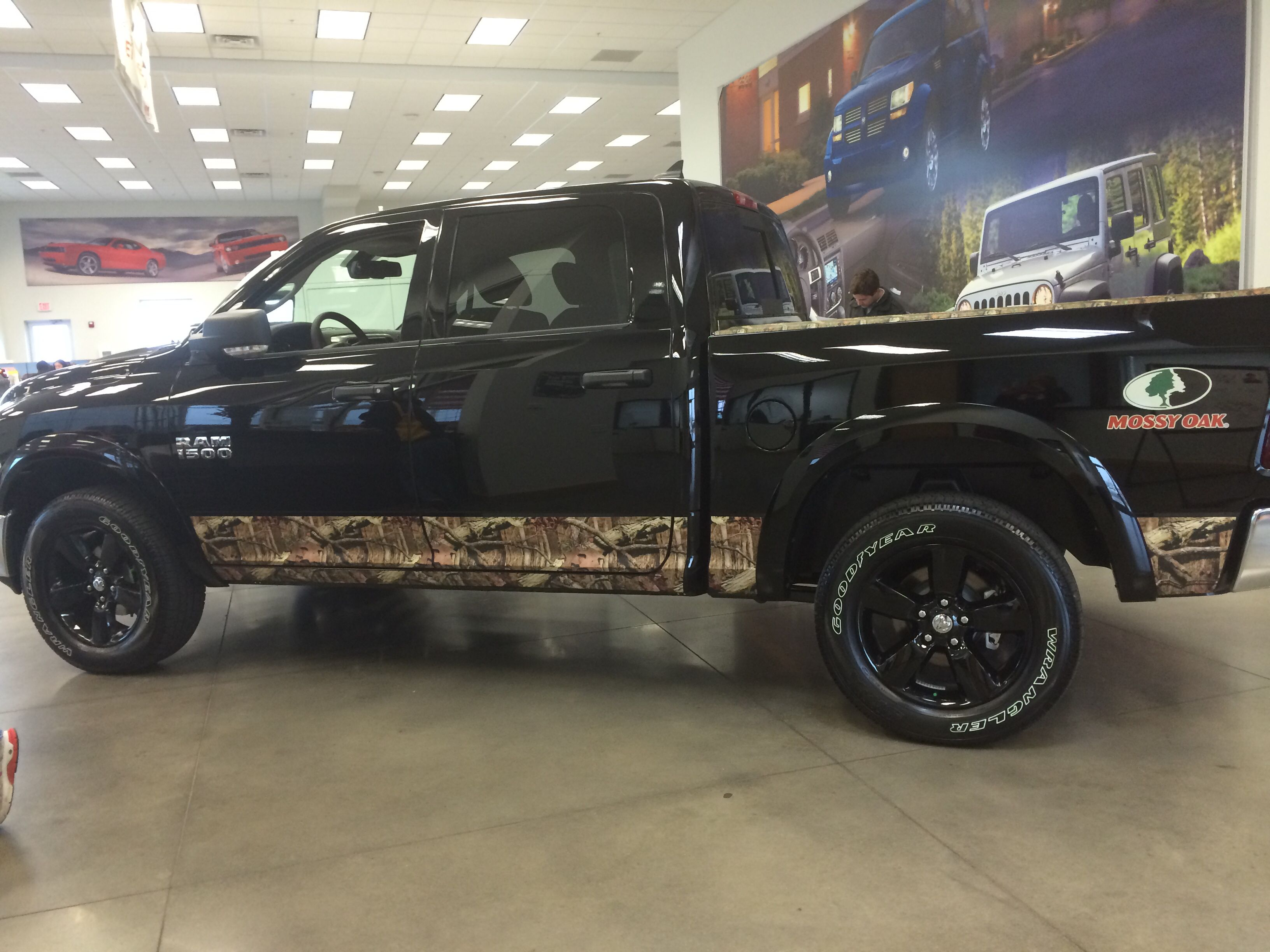 Camo wrap now this is a truck