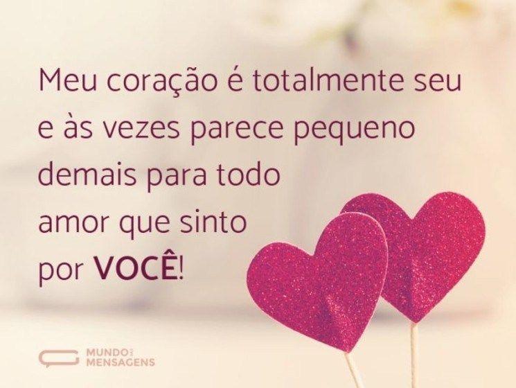 Declaracao De Amor Em Frases Imagens E Texto Mensagens
