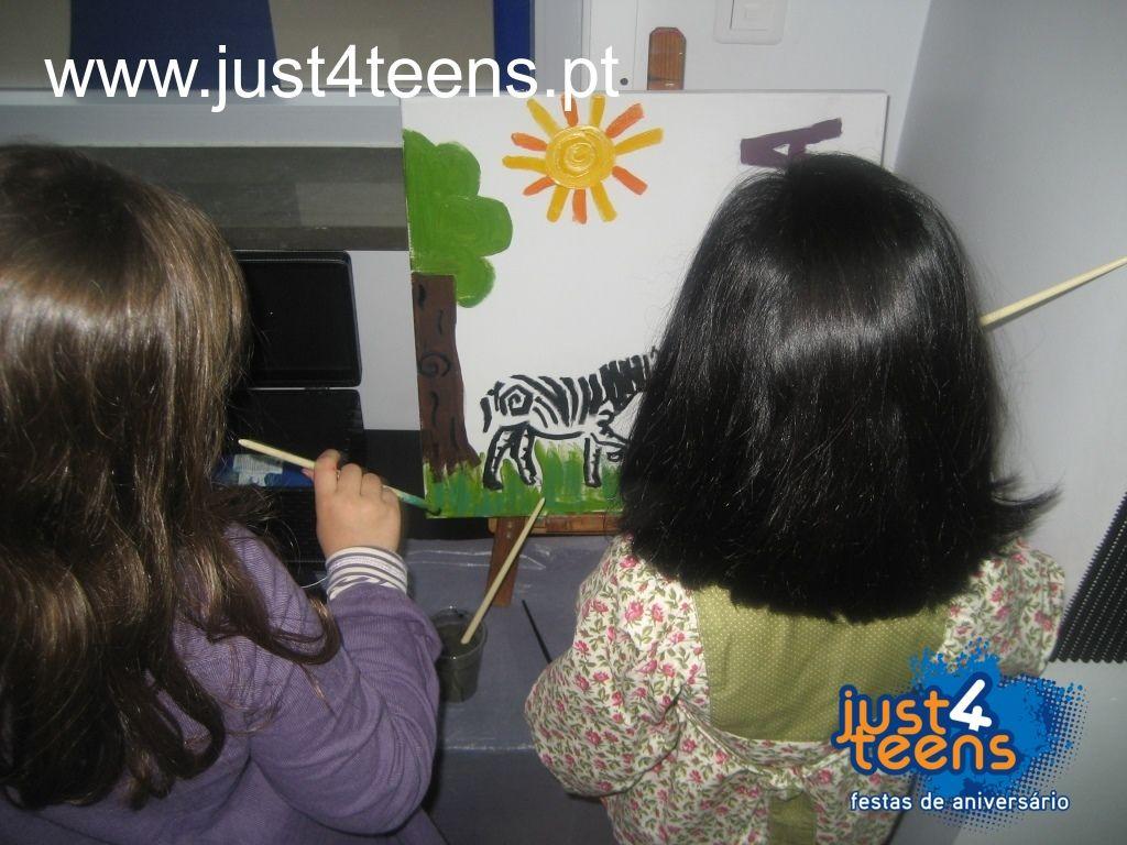 Festa com arte. Festa com tintas e pincéis. Festa: Vamos pintar um quadro! #festas #arte #just4teens