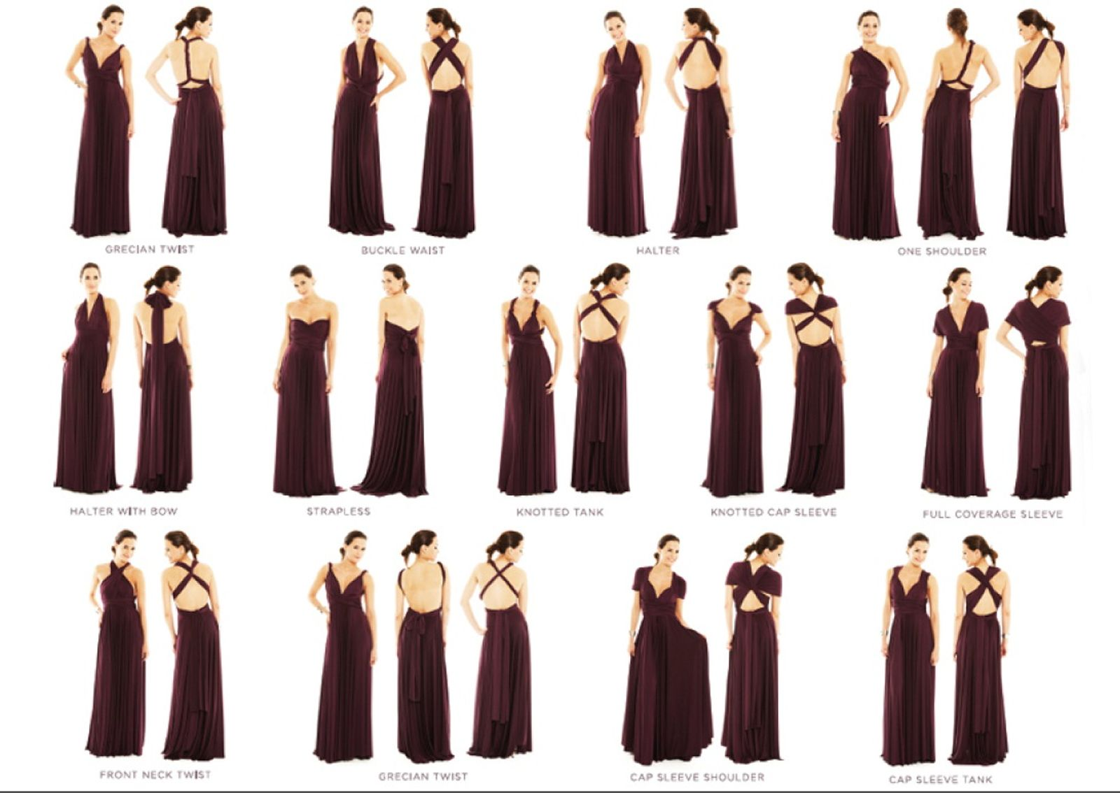2 birds bridesmaid dress can be wrapped 15 ways are the 2 birds bridesmaid dress can be wrapped 15 ways are the different ombrellifo Image collections