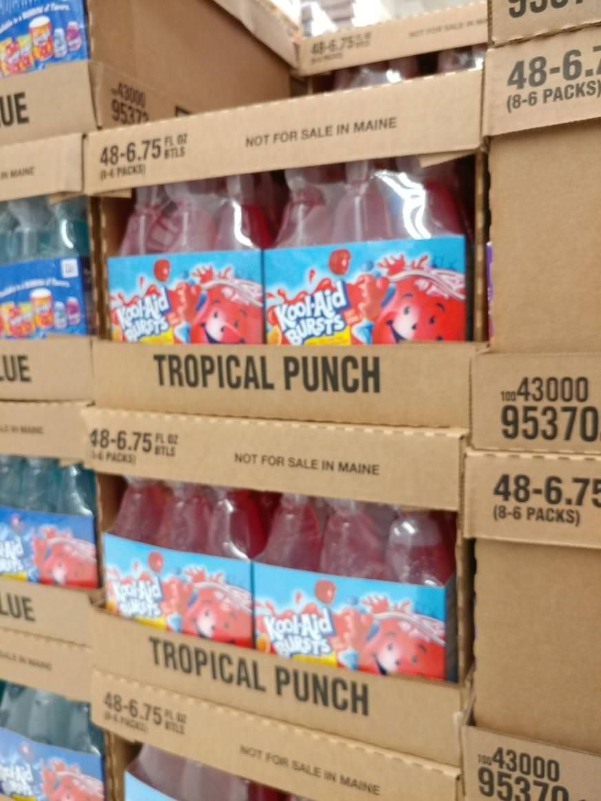 Kool Aid Burst Aren T For Sale In Maine Kool Aid Tropical Punch Paper Shopping Bag
