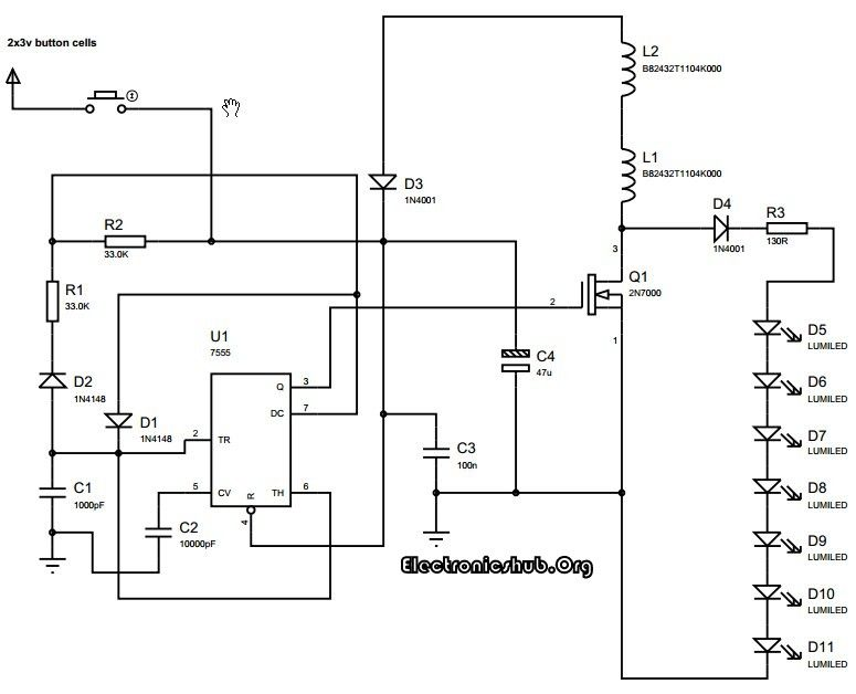 electronic circuit hub
