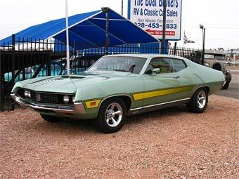 1971 Ford Gran Torino Gt Ford Classic Cars Muscle Cars Classic