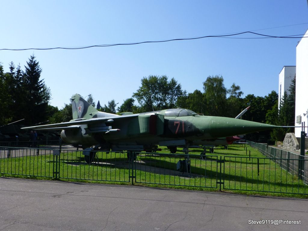MIG23C (1970) Armed Forces Museum, Moscow How to take