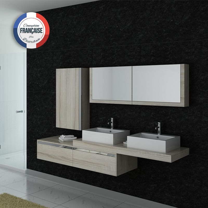 dis9551sc meuble salle de bain scandinave meubles salledebain design id es maison. Black Bedroom Furniture Sets. Home Design Ideas