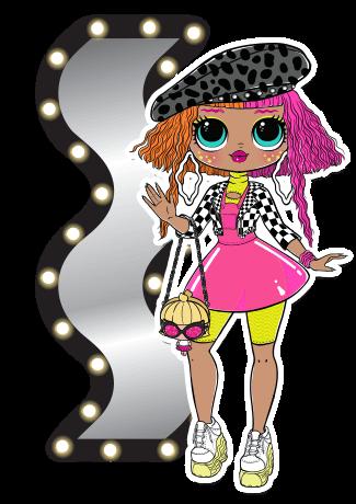 L O L Surprise O M G Neonlicious Lol Dolls Lol Doll Drawing