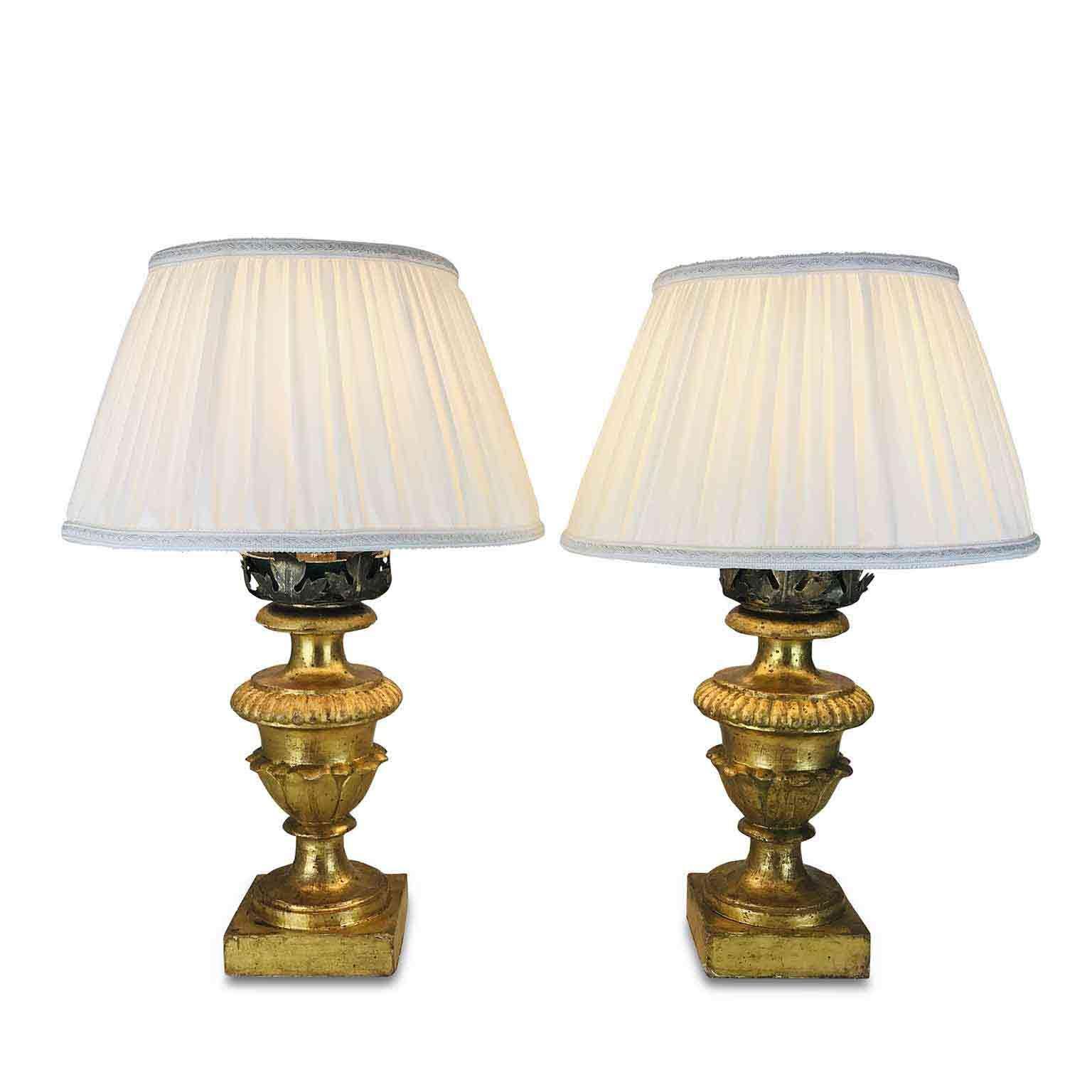 Coppia Di Lampade Da Tavolo Antiche Lampadari Lampade Table