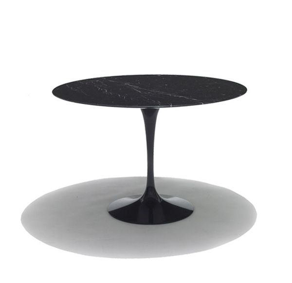 Perfect Black Tulip Table With Nero Marquina Marble Top. A Classic Range Of  Furniture Designed By