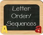 Letter and Word Order: Lesson Plans, Worksheets & Printables