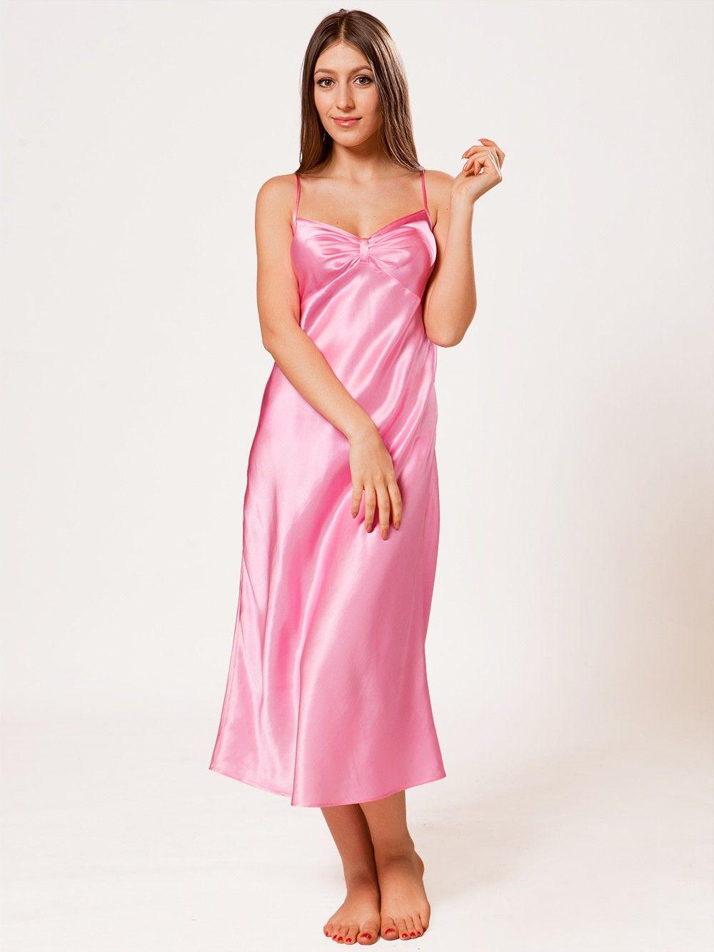 Long Mulberry Silk Night Gown for Women Long silk