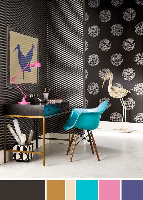 Color Palette Classy Yet Playful Home Decor Inspiration