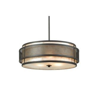 View The Elk Lighting 72185 3 Beckley Light 20 Wide Drum Chandelier With LightingDining Room