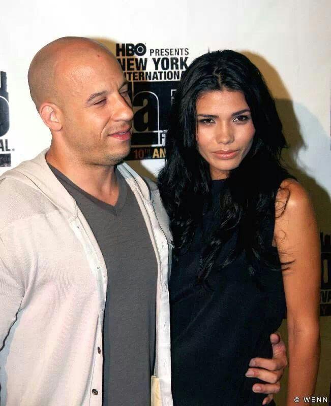 Vin With His Wife Vin Diesel Pinterest Vin Diesel Wife Vin Diesel Diesel