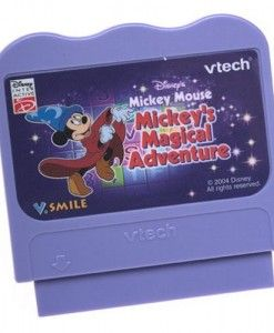 Mickey-Mouse-VSmile-Smartridge #vtech toys #vtech baby toys #electronic toys #micky mouse toys