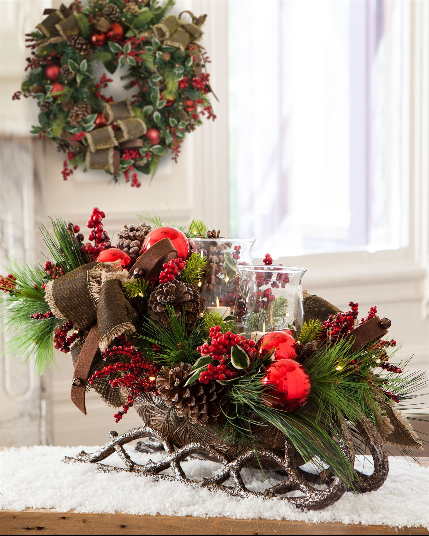 Lodge Burlap Foliage Balsam Hill Christmas Floral Designs