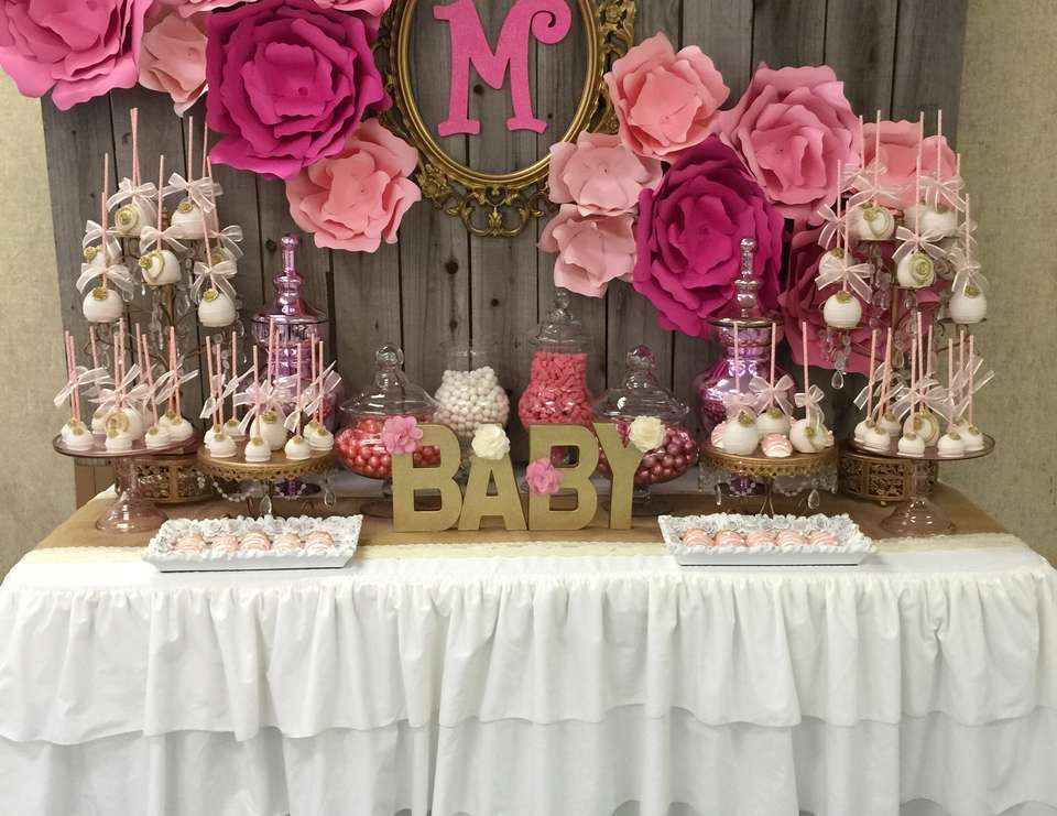It S A Girl Baby Shower Quot Baby Shower Quot Lorna Turns One