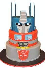 Image result for optimus prime cake