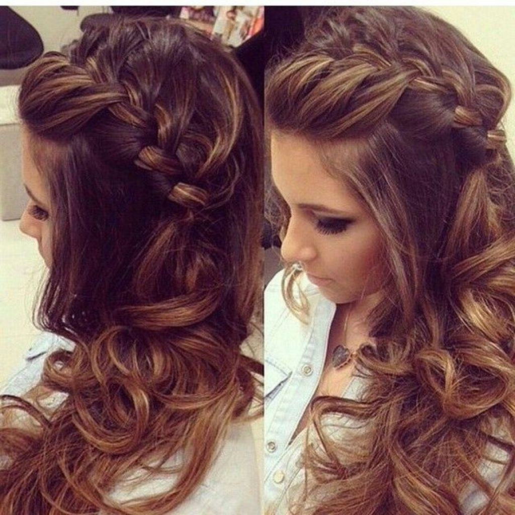 top beautiful prom hairstyle for long hair | hair and makeup