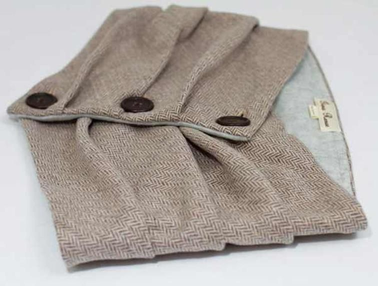 Combo Infinity Scarf & Fingerless Glove