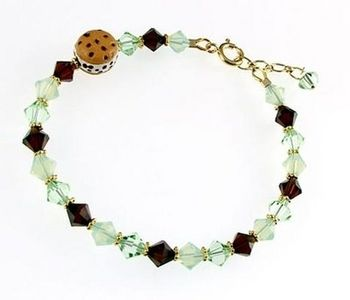 Beaded Jewelry Ideas | Sparkling Mint Chip Bracelet | Jewelry Design Ideas  This Is So Adorable