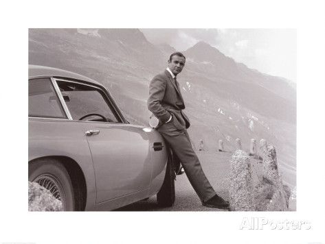 James Bond - Aston Martin Poster Print