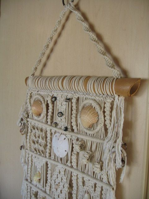 Reserved For Soulflowerboutique Vintage Macrame Wall