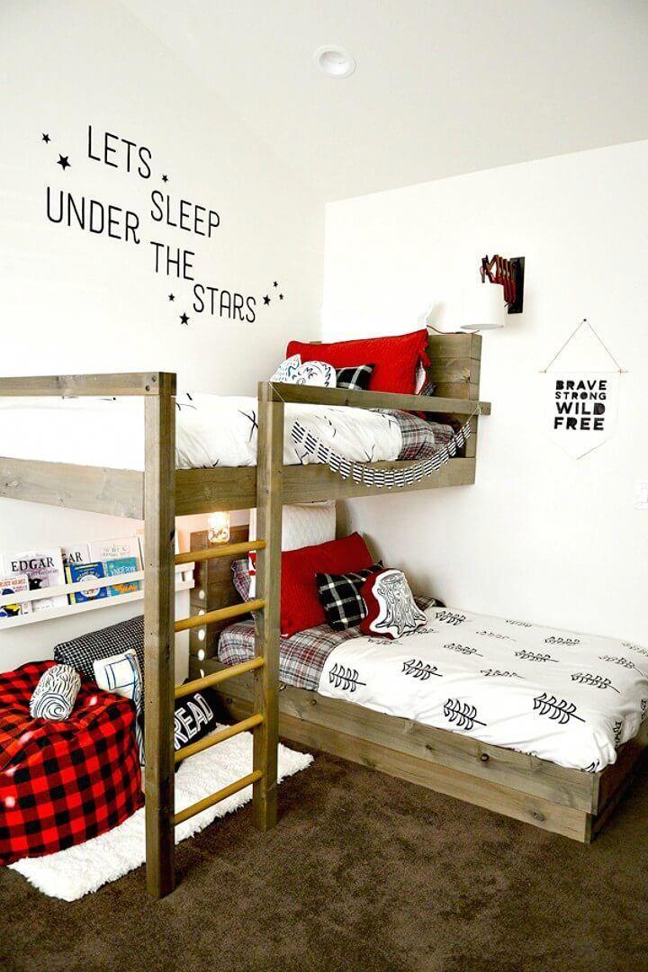 13++ Diy low bunk beds ideas in 2021